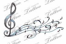 when words fail music speaks tattoo