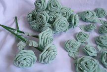 Flori handmade / Flori..........altfel de flori! Din hartie sau materiale textile.