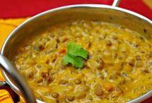 lentilles végétariennes indiennes