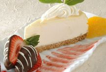 Cheesecake / Moist and delightfully smooth, creamy baked cheesecakes with the delicious flavours and toppings.