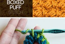 30+ Crochet Stitches and Tutorials