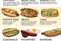 Hot dog fajták