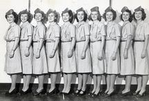 Flight Attendant Fashion / Flight Attendant Fashion through out the years.