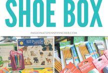Santa Shoe Box