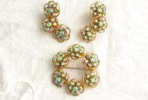 Vintage jewellery sets