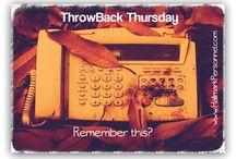 Throwback Thursday Fun