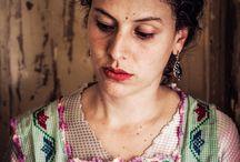 Retratos Polícromos / Retratos por Ginna Álvarez Modelo: Daniela Camarena
