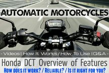 Automatic Honda Motorcycles | How To Ride FAQ / DCT Video Review + 2016 Motorcycle Model Lineup / How to Ride Honda DCT Automatic Motorcycles / Bikes + More @ www.HondaProKevin.com
