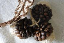 из зерен кофе и не только