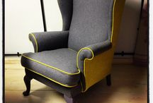 Parker Knoll Wingback Chair.
