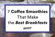 breakfast smoothies