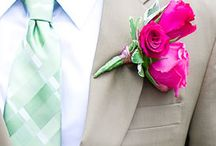 Bloemen trouwen