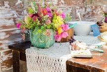 Boho wedding things / Wedding decoration boho and beach