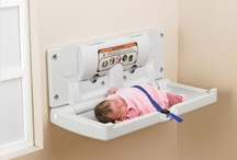 Infant Care and Washroom Accessories / A range of baby changing units and accessories to provide safe and stable changing facilities in public washrooms.