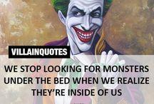 Villains!!!