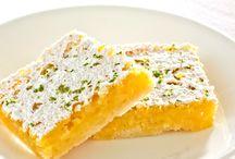 Lemon Dessert / for my bf who loves lemon stuff.  / by Kaylyn Leigh Braga