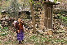 köyde kadın