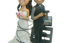 cake toppers / by Heart of Dixie Weddings