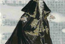 Costumes de theatre et de l'opera et maquillage de scene et decor et costumes d'era / Descriptions