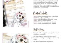 Prima Make and Takes / Prima developed fun ideas that are simple yet full of cool ideas. make something cute in no time flat!