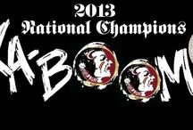 Florida State National Champions / Bags, hats and accessories for the Florida State Seminoles fan!  Celebrate the 2013 BCS Champions!  www.thehonoursociety.com/fsu