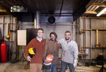 Foundry Shots! / Photos of the workshops and staff working at London Bronze Casting Ltd.