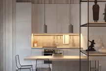 Home design: Kitchen Cabinet Design / Design inspirations for our future kitchen!
