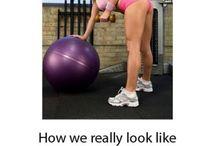 Fitness drôle