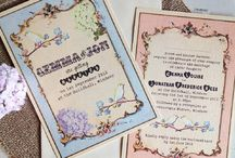 Wedding Invitation - Inspirations