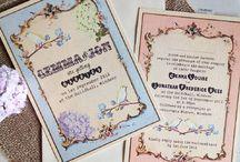 Wedding Invitation - Inspirations