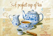 Tea for Two (or three, or four...) / tea pots, tea cozies, tea cups, brew pots, steeping...