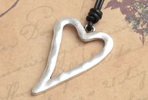 Hearts of metal / heart jewellery new for summer