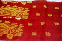Vintage Indian ethnic fashion / Fashion, Indian style, Ethnic wear, Pure Cotton & silk saree, combination of art & beauty