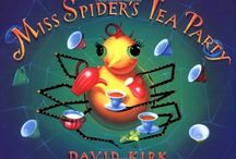 book nook: Miss Spider's Tea Party