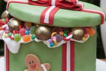 Jule kager og designes