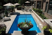 Pool Area Ideas / by Sydney Stone
