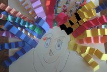 kinder activities art