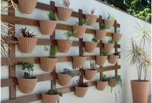 jardins em sacadas