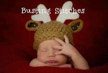 crochet hats/headbands/ear warmers / by Shell Baumer