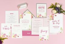 Design suite // Lucy wedding stationery collection