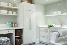 Buanderies / La salle de lavage se doit d'être un espace polyvalent. Découvrez nos plus belles buanderies et laissez-vous inspirer par les trucs d'organisation de nos éditeurs.