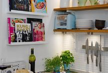 Small Kitchen / The best small kitchens, and the best ideas on how to maximise a small kitchen space.
