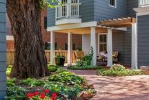 Urban Lot Transformation / Highland Park (St Paul, MN).  Windsor Companies Landscape Design