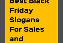 Black Friday Slogans