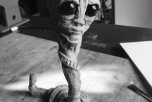 My Artworks / Drawings, Sculptures, toys, Graphic Design, Stop motion