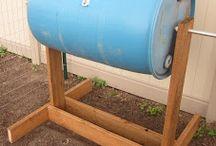rotating compost bin