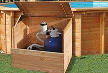 caixa arrumação motor piscina