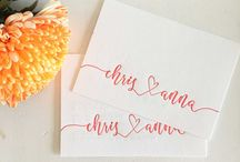 e n g a g e m e n t  p a r t y  i n v i t e s / a collection of swoon-worthy engagement party invitation images, ideas, + inspirations.