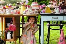 ALICE IN WONDERLAND TEA TABLE IDEAS