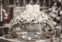 vence dekorácie na stol